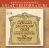 Great Performances - Mahler: Symphony No. 10 album lyrics, reviews, download