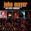 Any Given Thursday (Live) album lyrics, reviews, download