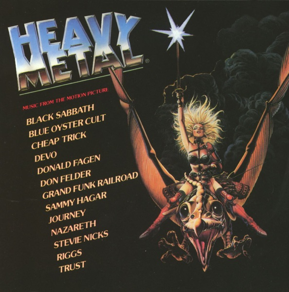 Heavy Metal (Music from the Motion Picture) by Various Artists album reviews, ratings, credits