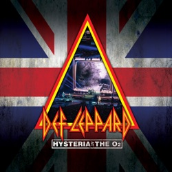 Hysteria at the O2 (Live) by Def Leppard album songs, credits