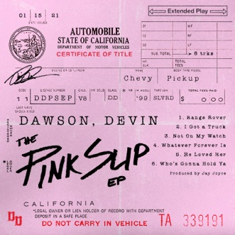 The Pink Slip - EP by Devin Dawson album reviews, ratings, credits