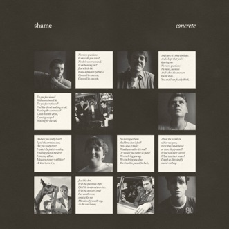 Concrete by Shame song lyrics, reviews, ratings, credits
