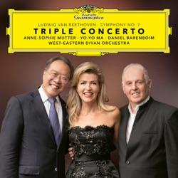 Beethoven: Triple Concerto & Symphony No. 7 (Live) by Anne-Sophie Mutter, Yo-Yo Ma, Daniel Barenboim & West-Eastern Divan Orchestra album songs, reviews, credits