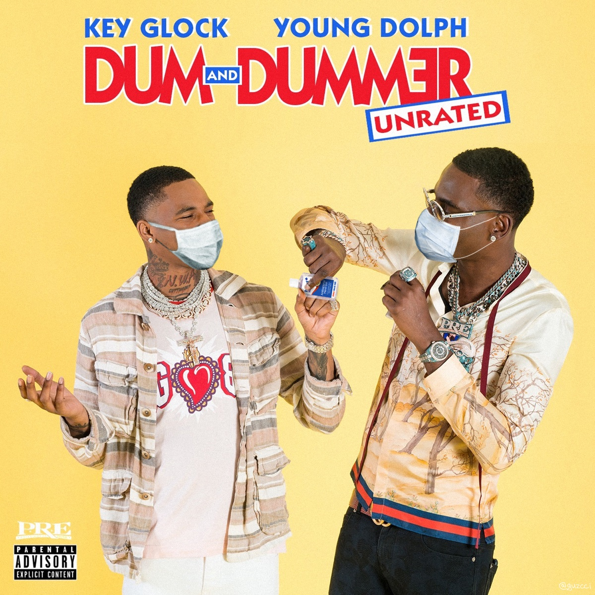 Dum And Dummer By Young Dolph Key Glock Album Reviews Ratings Credits