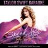 Taylor Swift Karaoke: Speak Now album lyrics, reviews, download
