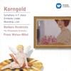 Korngold: Symphony in F sharp/Lieder etc. album lyrics, reviews, download